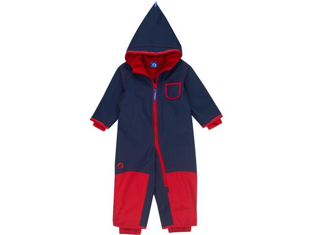 Finkid Pikku Mono Invierno Niños, navy/red